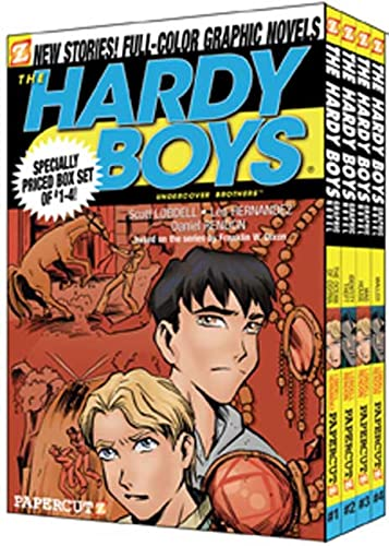 9781597070409: The Ocean of Osyria/Identity Theft/Madhouse/Malled (Hardy Boys Graphic Novels: Undercover Brothers 1-4)