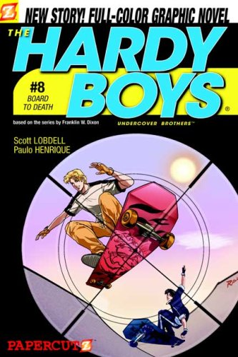 Board to Death (Hardy Boys Graphic Novels: Undercover Brothers #8): Lobdell, Scott