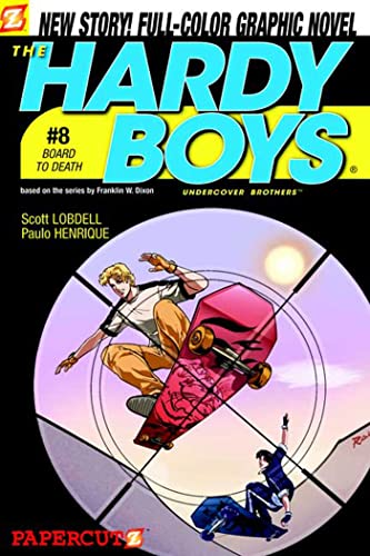 9781597070539: Board to Death (Hardy Boys Graphic Novels: Undercover Brothers #8)