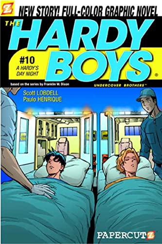 9781597070713: A Hardy's Day Night (Hardy Boys Graphic Novels: Undercover Brothers #10)