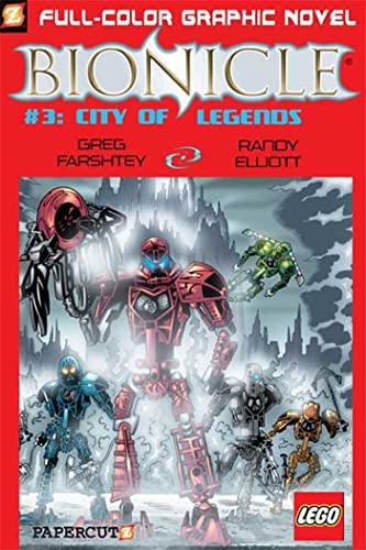 Bionicle #3: City of Legends (Bionicle Graphic Novels): Farshtey, Greg