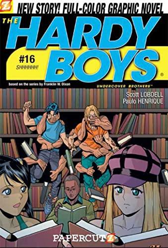 9781597071390: The Hardy Boys #16: Shhhhhh! (Hardy Boys Graphic Novels)