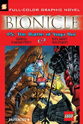 Bionicle #5: The Battle of Voya Nui (Bionicle Graphic Novels)