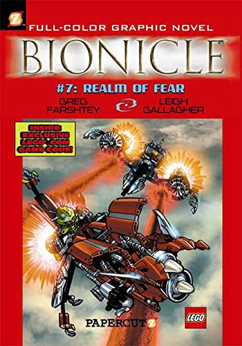 9781597071673: Bionicle #7: Realm of Fear (Bionicle Graphic Novels)
