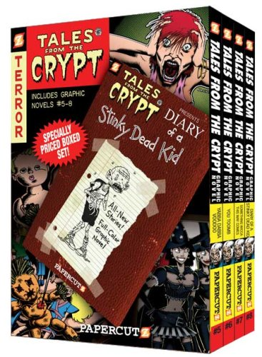 9781597071758: Tales from the Crypt Boxed Set: Vol. #5 - 8