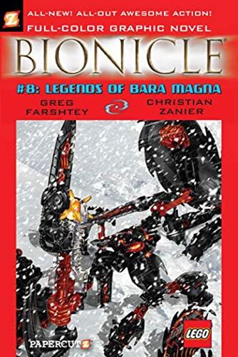 Bionicle #8: Legends of Bara Magna (Bionicle Graphic Novels): Farshtey, Greg