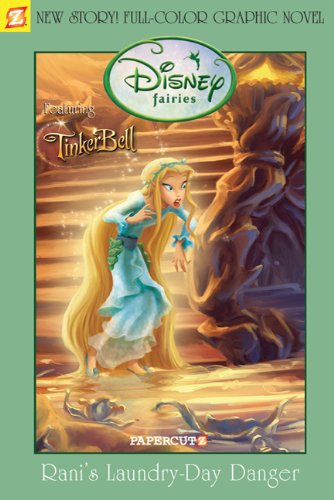 9781597071987: Disney Fairies Graphic Novel: Rani's Laundry Day Danger (Disney Fairies (Quality Papercutz))