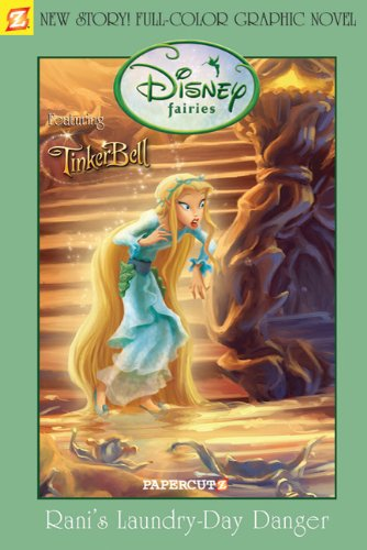 9781597071994: Disney Fairies Graphic Novel: Rani's Laundry Day Danger (Disney Fairies (Hardcover Papercutz))