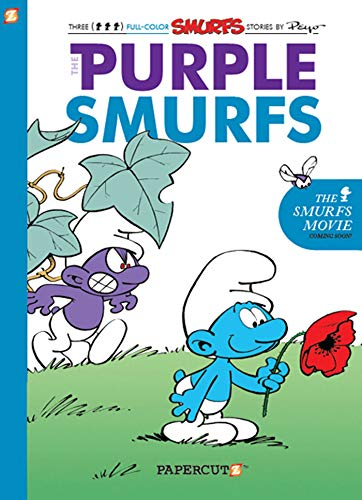 9781597072076: Smurfs #1: The Purple Smurfs, The (Smurfs Graphic Novels (Hardcover))