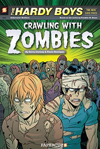 9781597072199: Hardy Boys, The New Case Files 1: Crawling With Zombies