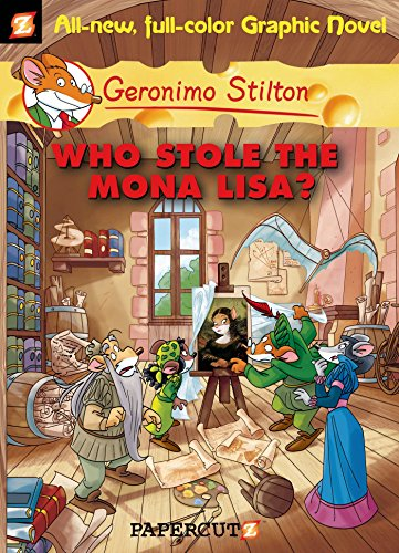 Who Stole the Mona Lisa? (Paperback): Geronimo Stilton
