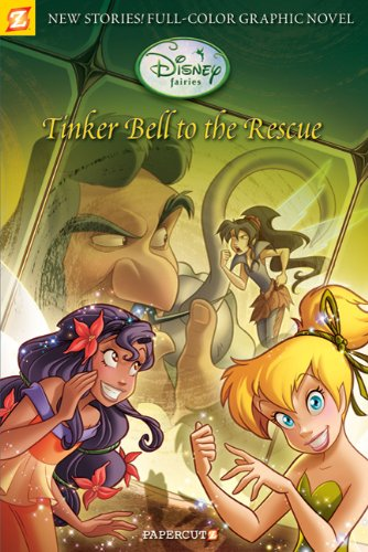 9781597072304: Disney Fairies Graphic Novel #4: Tinker Bell to the Rescue