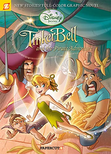 9781597072403: Disney Fairies Graphic Novel #5: Tinker Bell and the Pirate Adventure
