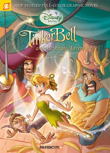 9781597072410: Disney Fairies Graphic Novel #5: Tinker Bell and the Pirate Adventure