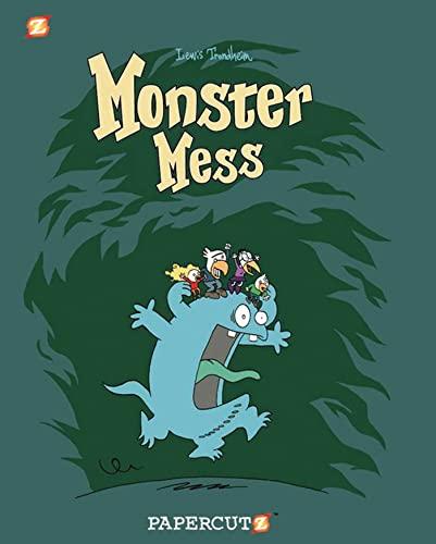 9781597072946: Monster Mess (Monster Graphic Novels)