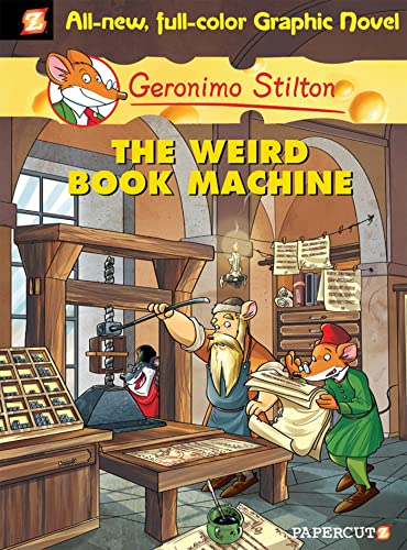 9781597072953: Geronimo Stilton Graphic Novels #9: The Weird Book Machine