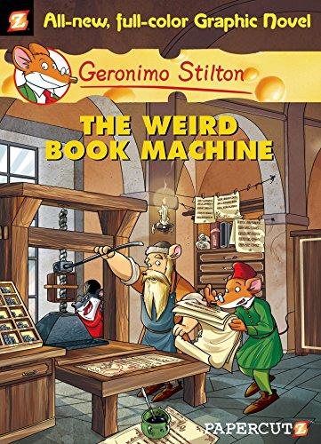 9781597072960: Geronimo Stilton#09 The Weird Book Machine (Graphic)