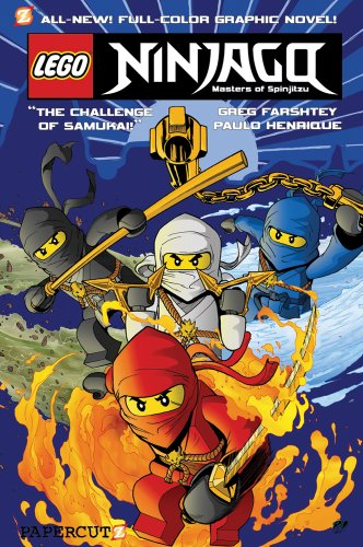 LEGO Ninjago #1: The Challenge of Samukai: Farshtey, Greg