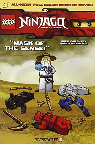 Lego Ninjago #2: Mask of the Sensei (Paperback)