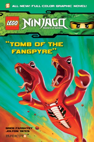 9781597073295: Ninjago Tomb of the Fangpyre #4: Tomb of the Fangpyre