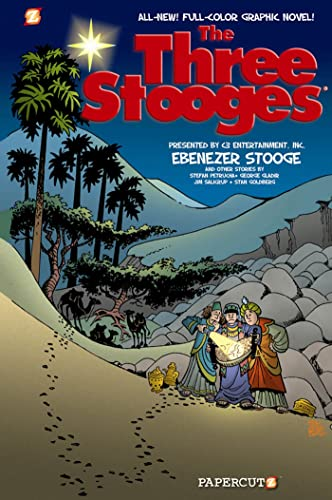 9781597073363: The Three Stooges Graphic Novels #2: Ebenezer Stooge
