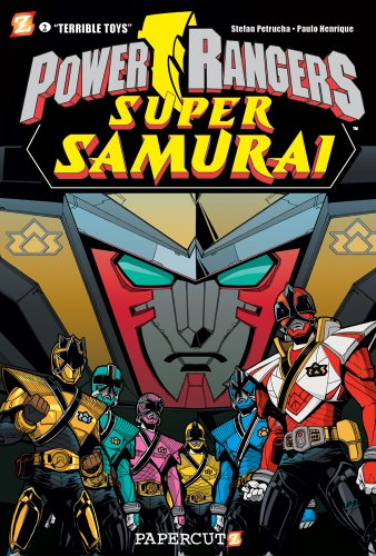 Power Rangers Super Samurai #2: Terrible Toys: Stefan Petrucha