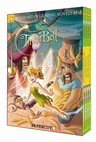 9781597073417: Disney Fairies Graphic Novels Boxed Set: Vol #5-8