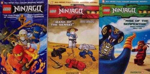 9781597073431: LEGO Ninjago Boxed Set #1-3