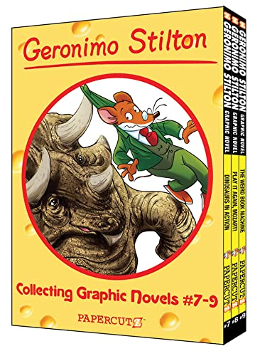 Geronimo Stilton Boxed Set Vol. #7-9 (Geronimo Stilton Graphic Novels) (9781597073448) by Geronimo Stilton