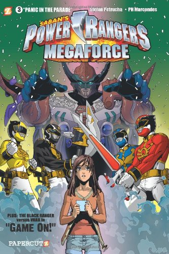 Power Rangers Megaforce #3: Panic in the Parade (1597073512) by Stefan Petrucha; Paulo Henrique