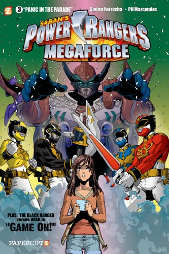 9781597073523: Power Rangers Megaforce 3: Panic in the Parade