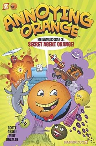 My Name Is Orange, Secret Agent Orange!: Salicrup, Jim/ Parker,