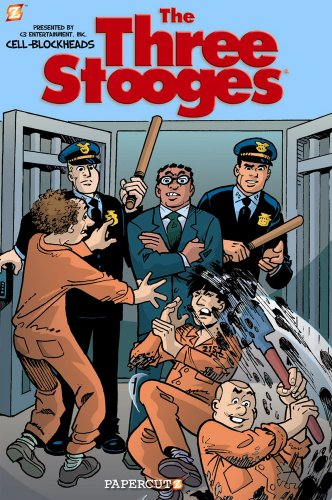 9781597073660: The Three Stooges Graphic Novels #3: Cell Block Heads