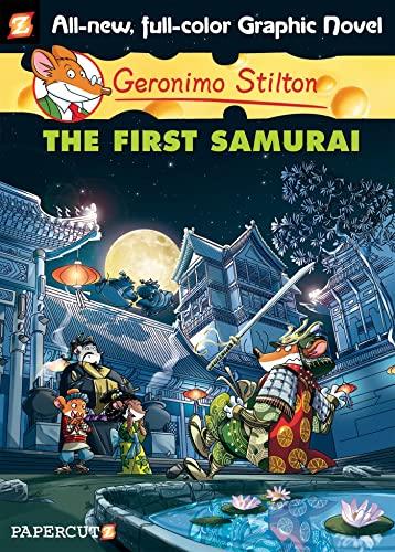 9781597073851: Geronimo Stilton Graphic Novels #12: The First Samurai