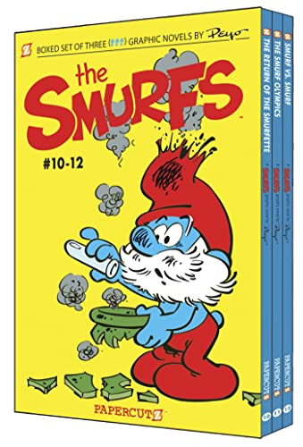 9781597073868: Smurfs Graphic Novels Boxed Set: Vol. #10-12, The (The Smurfs Graphic Novels)