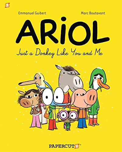 9781597073998: Ariol #1: Just a Donkey Like You and Me (Ariol Graphic Novels)