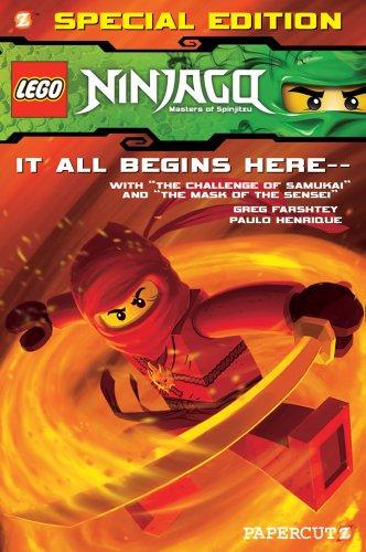 9781597074025: LEGO Ninjago Special Edition #1: With