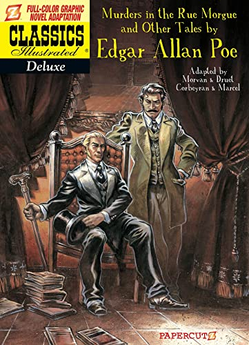 9781597074315: Classics Illustrated Deluxe #10: The Murders in the Rue Morgue, and Other Tales (Classics Illustrated Deluxe Graphic Nove)