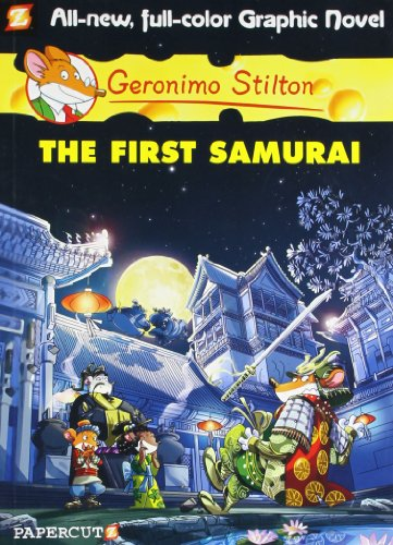 9781597074346: Geronimo Stilton Graphic Novel # 12: The First Samurai(Chinese Edition)