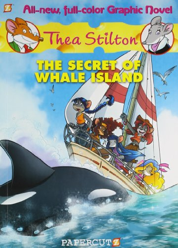 9781597074353: Thea Stilton Graphic Novel # 1: The Secret of Whale Island(Chinese Edition)