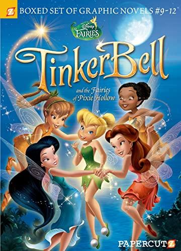 9781597074995: Disney Fairies Graphic Novels Boxed Set: Vol. #9-12