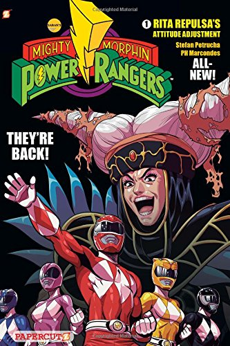 9781597076975: Mighty Morphin Power Rangers 1: Rita Repulsa's Attitude Adjustment