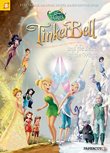 Disney Fairies Graphic Novel #15: Tinker Bell and the Secret of the Wings
