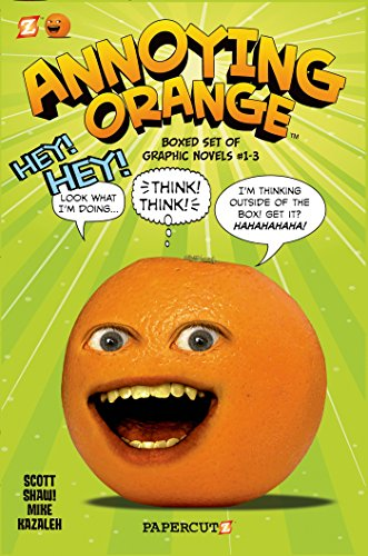 9781597077361: Annoying Orange Graphic Novels Boxed Set: Vol. #1-3