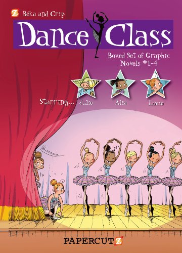 Dance Class Graphic Novels Boxed Set: Vol. #1-4: Beka; Crip
