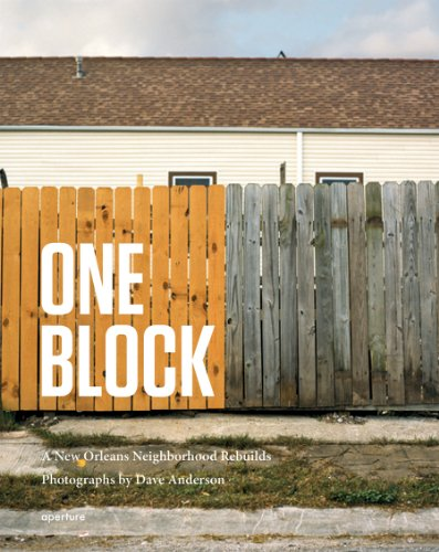 9781597111430: Dave Anderson: One Block: A New Orleans Neighborhood Rebuilds