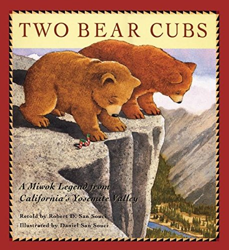 9781597140928: Two Bear Cubs: A Miwok Legend from California's Yosemite Valley