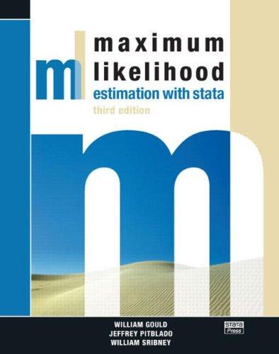 9781597180122: Maximum Likelihood Estimation with Stata, Third Edition
