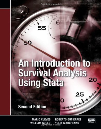 An Introduction to Survival Analysis Using Stata,: Mario Cleves, William