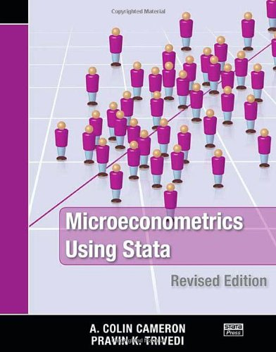 Microeconometrics Using Stata: Cameron, A. Colin